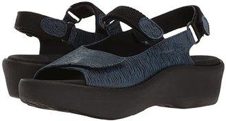 Wolky Jewel (Denim Blue) Women's Sandals
