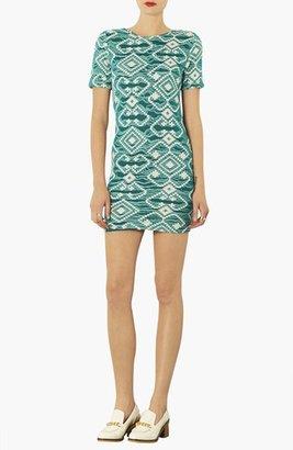 Topshop Geo Print Body-Con Dress