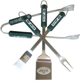 New york jets 4-pc. grilling utensil set