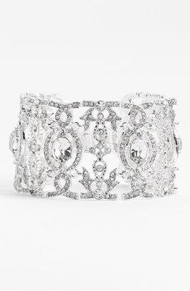 Nina 'Angelica' Wide Crystal Line Bracelet
