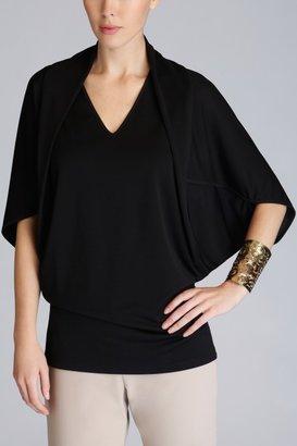 Josie Natori Matte Jersey Cocoon Top Style T15162