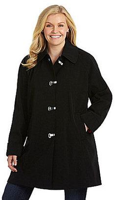 London Fog Woman Oval Clip Coat