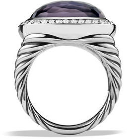 David Yurman 17mm New Albion Cushion Ring $2,255 thestylecure.com
