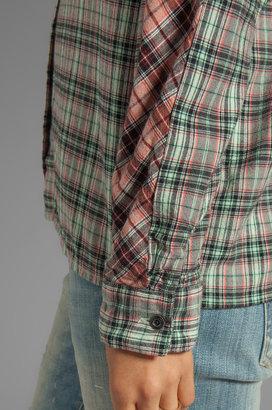 Maison Scotch Checkered Shirt