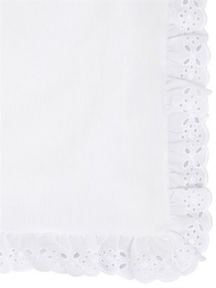 Embroidered Cotton Duvet Cover
