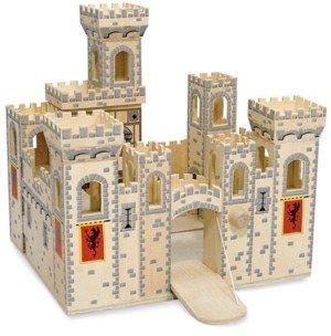 Melissa & Doug Kids Toys, Folding Medieval Castle