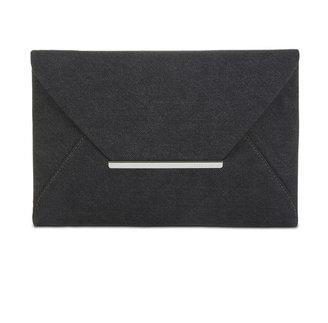 BCBGMAXAZRIA Harlow Denim Envelope Clutch