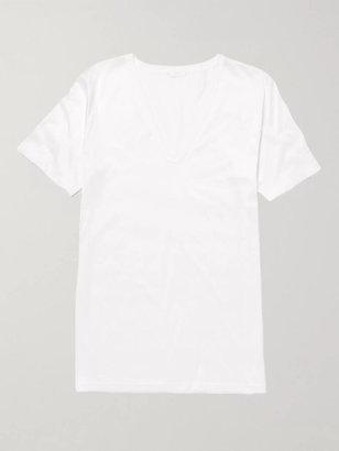 Zimmerli Royal Classic Cotton T-Shirt - Men - White