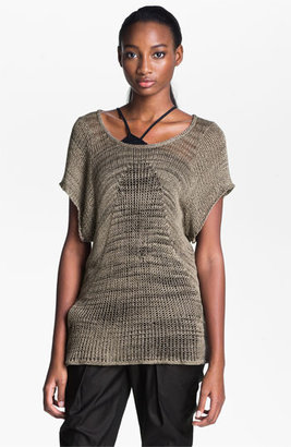 Helmut Lang Marled Pullover Taupe Medium