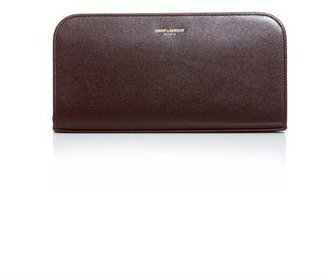 Saint Laurent Leather continental wallet