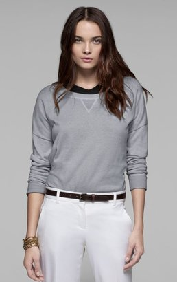 Theory Toreese Sweater in Cotton Cashmere