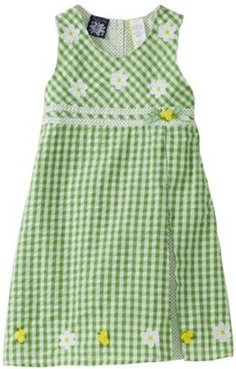 So La Vita Girls 4-6x Yoke Embroidery Dress
