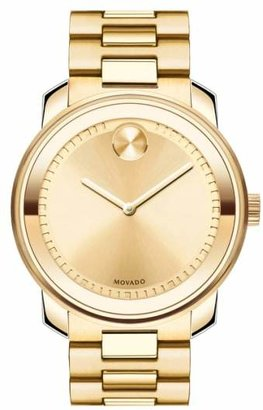 Movado 'Bold' Bracelet Watch, 43mm