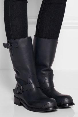 Bottega Veneta Leather biker boots