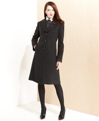 Jones New York Coat, Classic Wool-Blend Walker