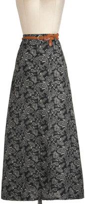 Paisley and Benefits Skirt