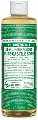 Dr. Bronner's Almond Castile Liquid Soap by 16oz Liquid)