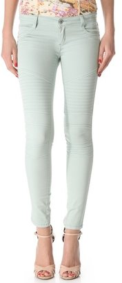 James Jeans Low Rise Motorcycle Legging Jeans