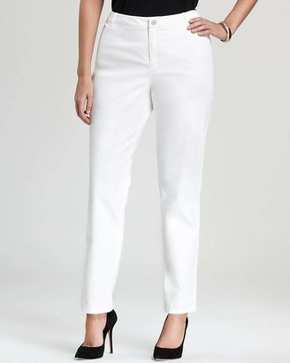 Lafayette 148 New York Plus Curvy Slim Leg Jeans