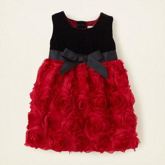 Children's Place 3D flower dress