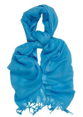 Love Quotes Scarves Italian Linen/Viscose with Hand Knotted Fringe - as seen on Kim Kardashian -