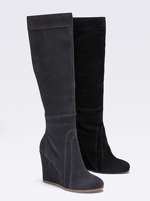 Victoria's Secret Collection Paneled Wedge Boot