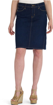 Levi's Skirt, 512 Slimming, Hazy Dark Wash