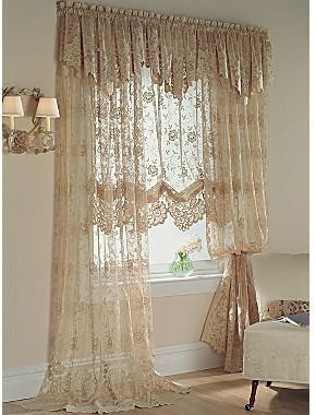 JCPenney jcp homeTM Shari Lace Window Treatments