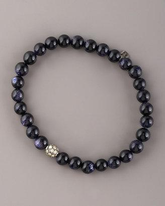 Sydney Evan Goldstone & Diamond Bracelet