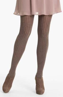 Oroblu 'Angela' Ribbed Cotton Tights