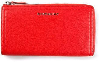 Givenchy zip fastening purse
