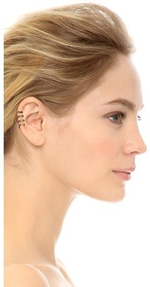 House Of Harlow Engraved 4 Ring Ear Cuff