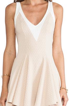 Torn By Ronny Kobo Hila Textured Dress