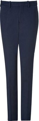 Neil Barrett Navy Jersey Suit Pants