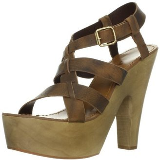 N.Y.L.A. Women's Traeh Platform Sandal