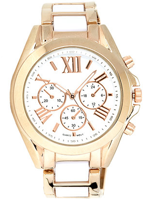 Forever 21 Two-Tone Chrono Watch