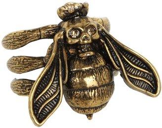 Alexander McQueen Bee Ring (Topaz) - Jewelry