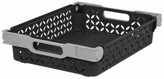 IRIS Medium Decorative Basket - Black - 2 pk