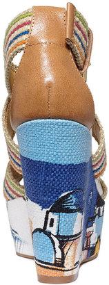 Nine West Mitchelle Platform Wedge Sandals