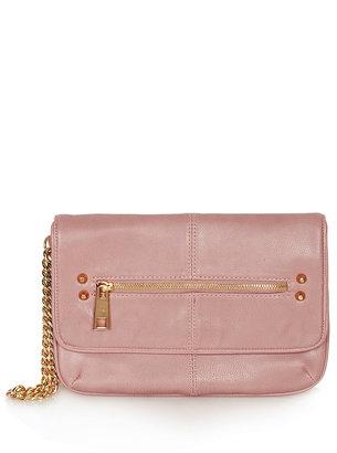 Topshop Chain Handle Clutch Bag