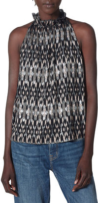 Joie Tieve Printed Sleeveless Top