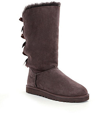UGG® Bailey Bow Tall Sheepskin Boots $230 thestylecure.com