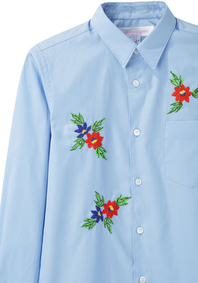 Comme des Garcons Girl / embroidered shirt
