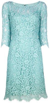 Dolce & Gabbana floral lace dress