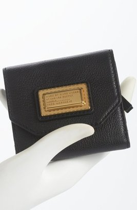Marc by Marc Jacobs Bifold French Wallet Black Multi One Size