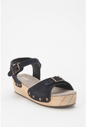 Urban Outfitters Ecote Suede & Wood Skate Wedge