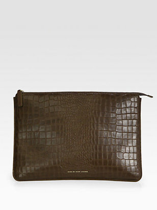 Marc by Marc Jacobs Leather Laptop Case