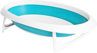 Boon Naked Collapsible Baby Bathtub - Blue/White