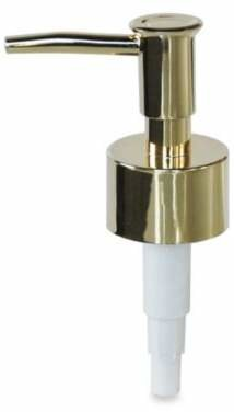 Bed Bath & Beyond Soap Dispenser Replacement Pump in Polished Brass