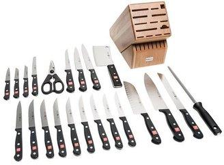 Wusthof Gourmet Knife Block Set - 23-Piece